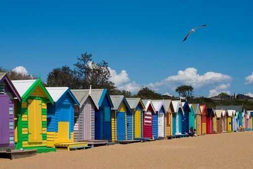 Portsea, bathing boxes | by jamretsam324