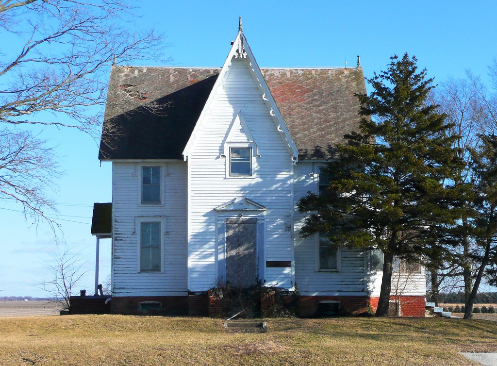 IL Gothic Revival Farmhouse