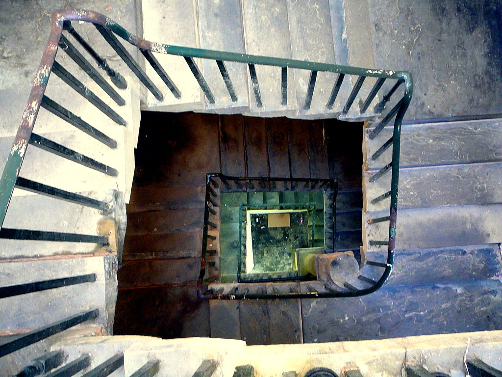 ... Spiral Staircase In The Piece Hall | By Tim Green Aka Atoach