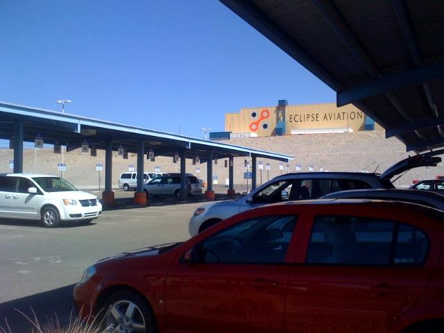 Albuquerque's Airport's Car Rental Area
