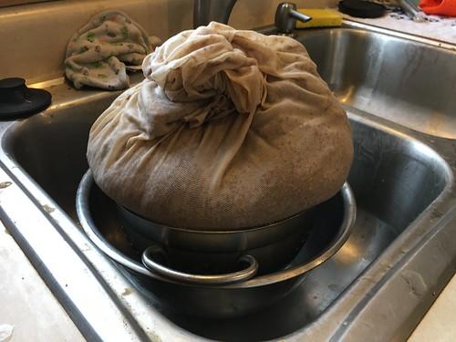 10.5 lb. of wet spent grain
