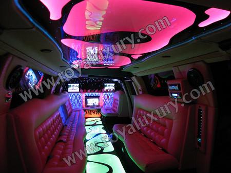 Audi Q7 limousine limo interior | Audi Q7 Limousine from ...