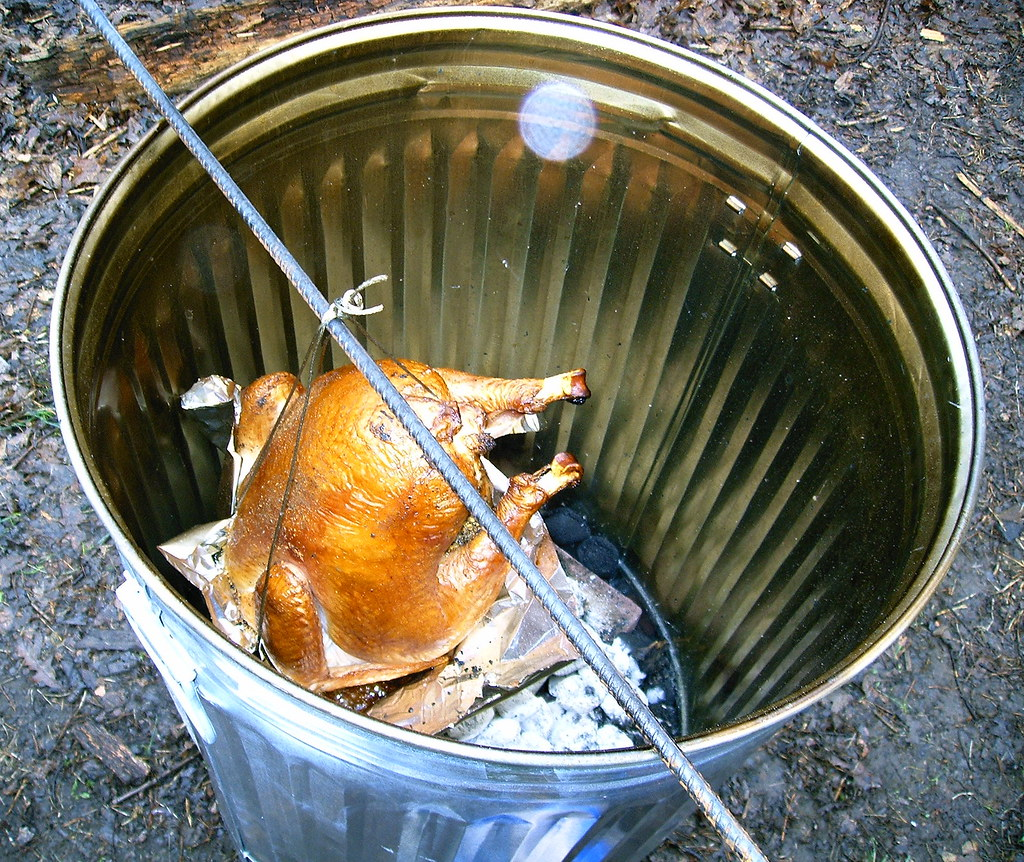 Turkey In The Can Garbage Can Turkey 20 30 Gallon