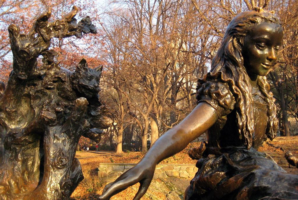 Nyc Central Park Alice In Wonderland Jose De Creeft S