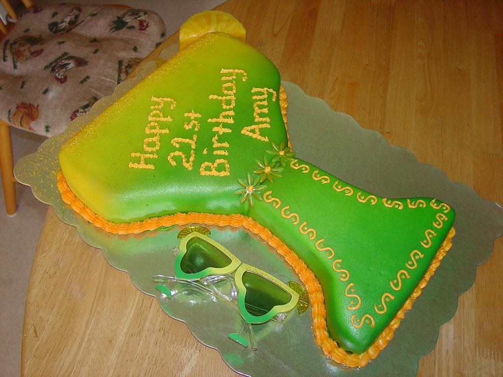 Margarita Glass Cake Pan