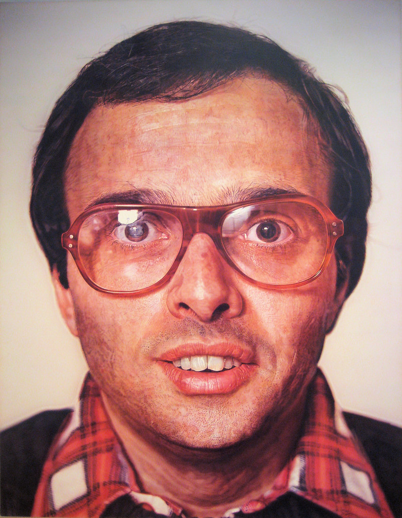 Mark By Chuck Close Mark 1978 1979 By Chuck Close