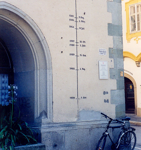Passau - Flood Marks | by roger4336