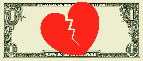 Broken Heart Dollar