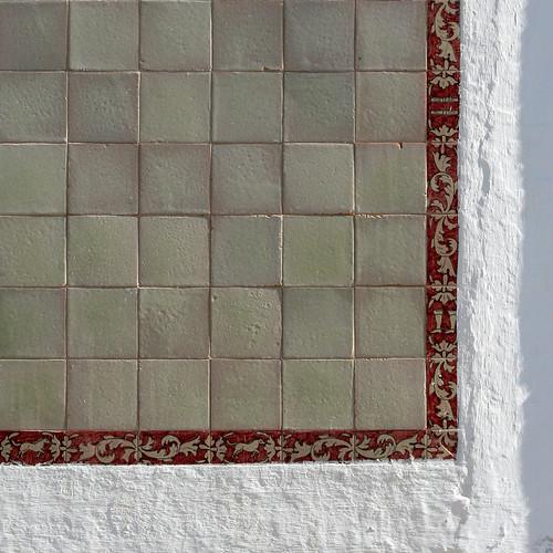 Marco de losetas para carteles taurinos pared de la mestr - Losetas para pared ...