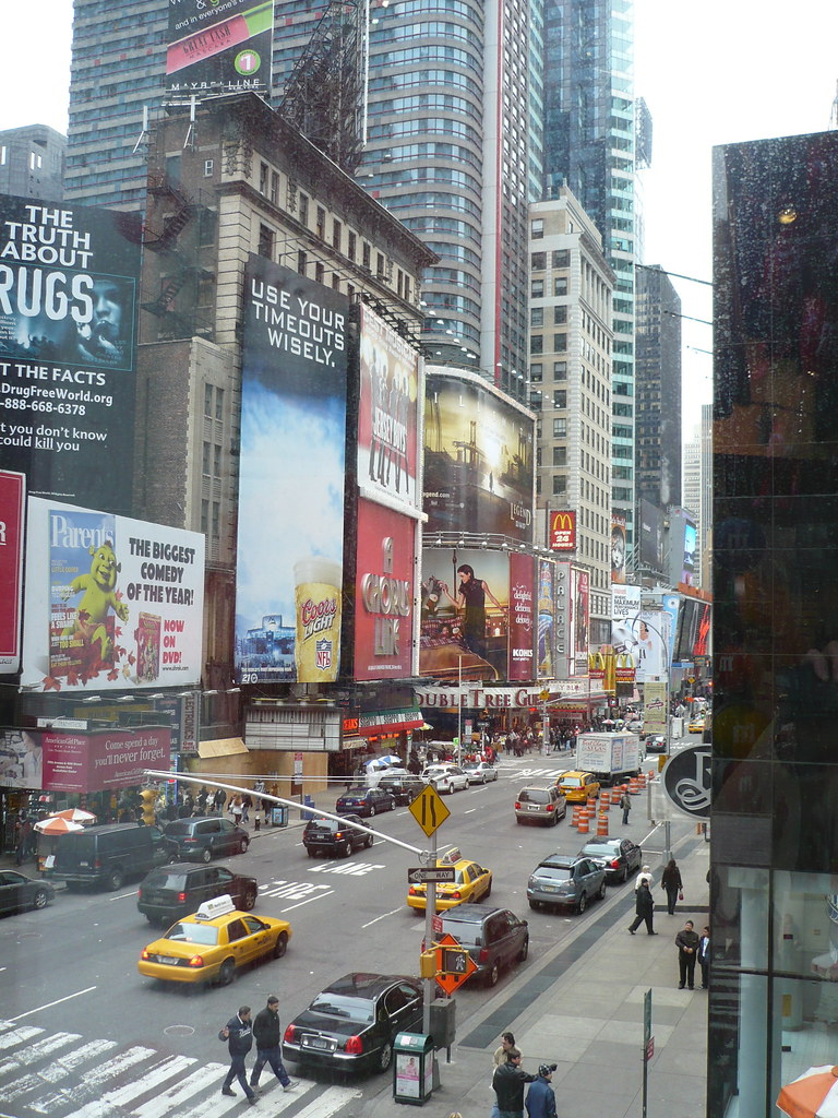 Time Square From M&Ms Store