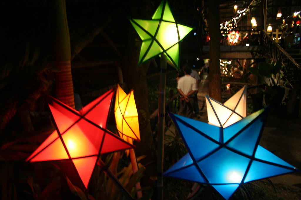 Parol -- Filipino Christmas Lantern | from a restauarant we … | Flickr