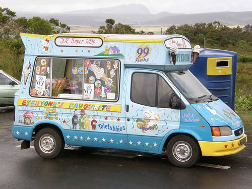 Icecream car
