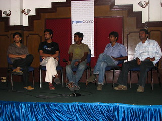 pipesCamp Panel Discussion | by YuviPanda