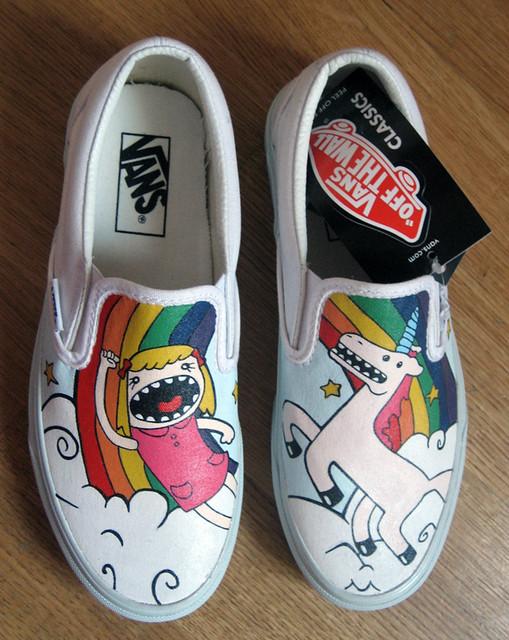 vans unicorno