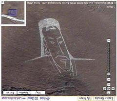 Portrait of Ghenghis Khan in Google Maps | by Si1very