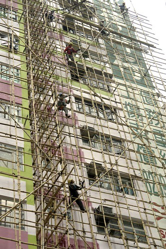 Bamboo Scaffolding | by Vinko T.