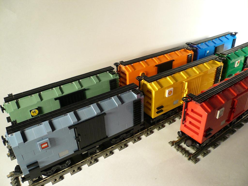 Train Box Cars For Sale