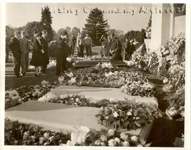 milton hershey funeral, 1945 | hershey, milton s.; funeral