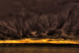 Storm Clouds at Sunset | by Thad Roan - Bridgepix