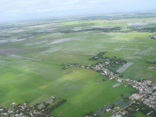 Fields and towns, from helicopter 30dec06 | by Monica Arellano-Ongpin