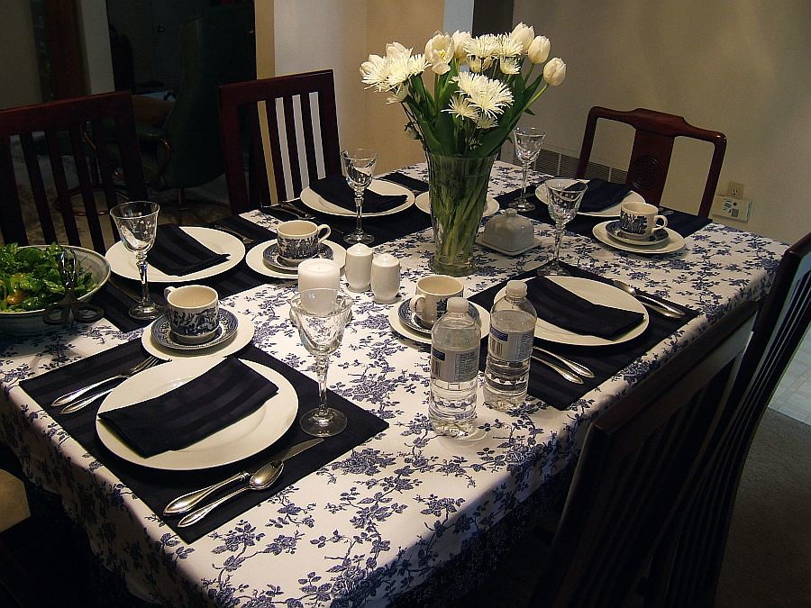 ... Motheru0027s Day Blue Willow table setting | by bseed76 & Motheru0027s Day Blue Willow table setting | My sisteru0027s excelleu2026 | Flickr