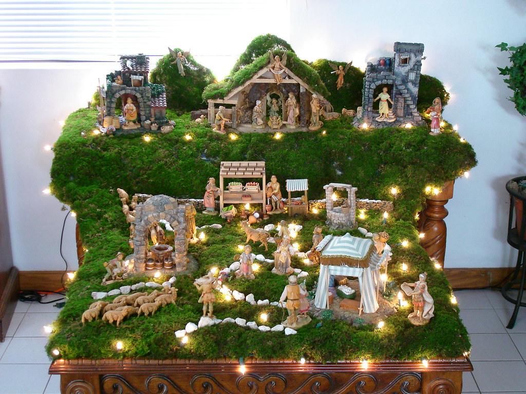 Fontanini creche fontanini belen model for a guam - Casitas de nacimientos de navidad ...