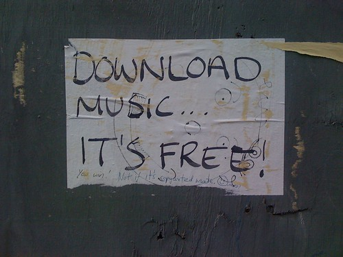 Download Music It's Free | by Iain Tait