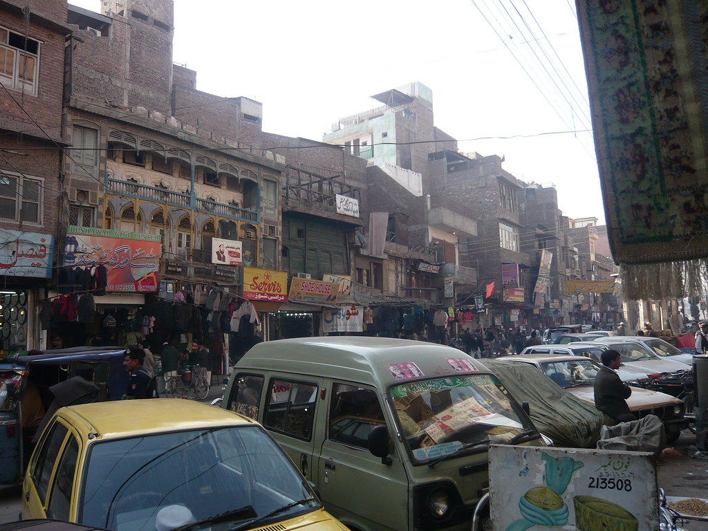 Old Peshawar City