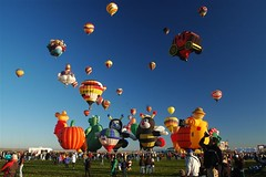 Yearly Hot Air Balloon Festival Albuquerque NMexico, What Blast! In more ways than one!!!! | by billiefromthebeach, da blonde is back and ready to