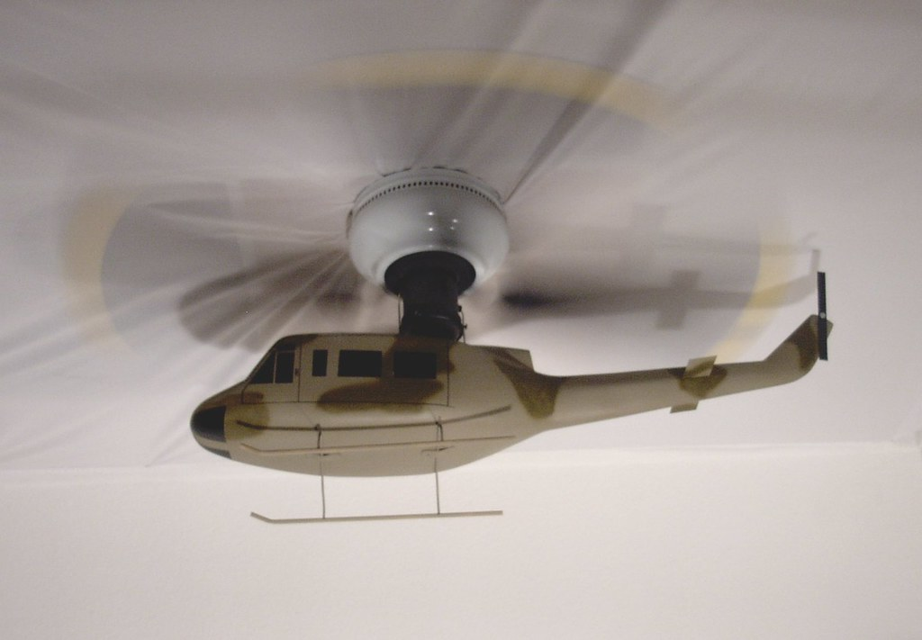 Camo Huey Helicopter Ceiling Fan An Idea That I Have Had