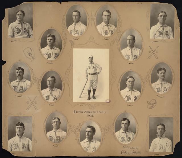 Boston Americans Baseball Team, 1902   File name: 06_06 ...