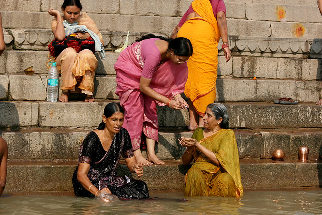 Ganga River Bath Holy Bath at the Ganga...