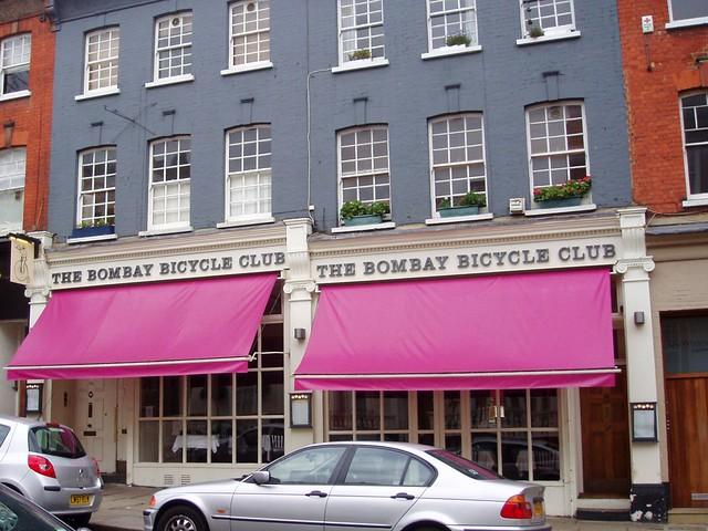 Bombay Bicycle Club Restaurant London