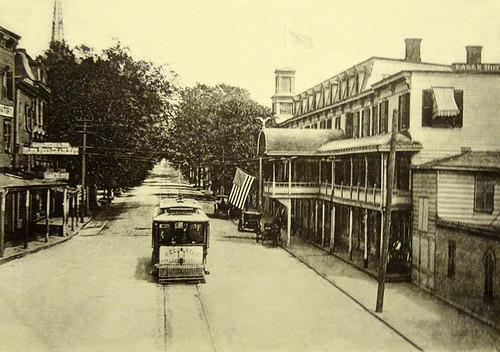 Peekskill Trolley circa 1900