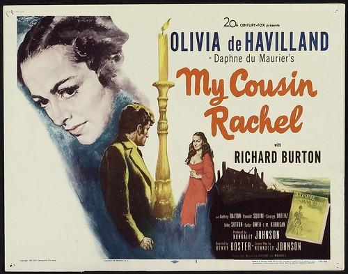 My Cousin Rachel - 1952 - Poster 1