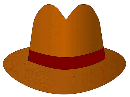 brown hat lge 12 cm op this clipart drawing has been