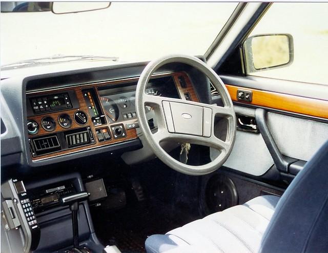 Free Car History Report >> 1984 Ford Granada 2.8i Ghia X dashboard | Autocar magazine ...