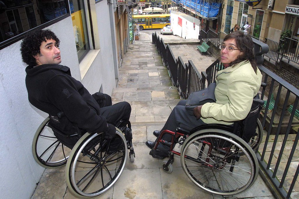 guys in wheelchairs