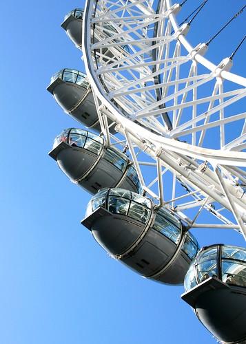 London - Capsules On The London Eye On