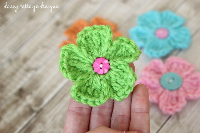 Free Crochet Patterns Simple Daisy Crochet Pattern Daisy Cottage