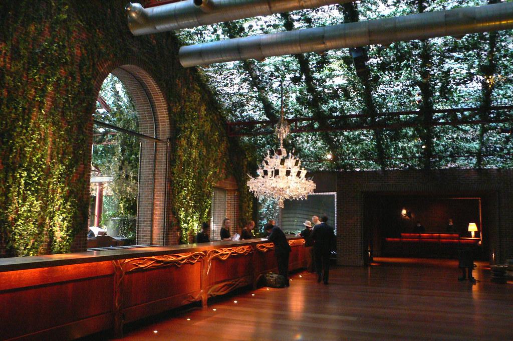Lobby Hudson Hotel New York Urban Adventure Daredevil