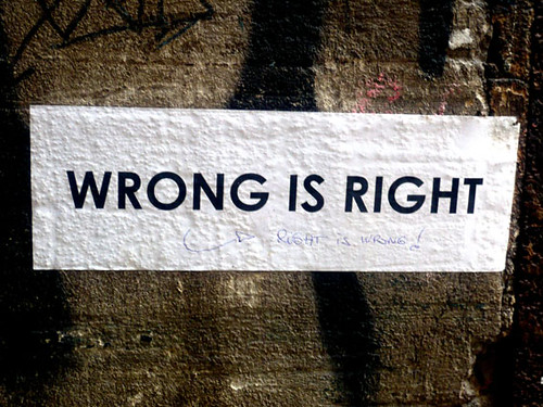 right is wrong | by roland frechen