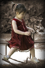 My little red dress | by Frikkie Kapp