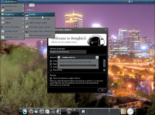 Geubuntu Moonlight screenshot | by intilinux