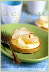 Lime mousse and Apple Tartlet | by La tartine gourmande