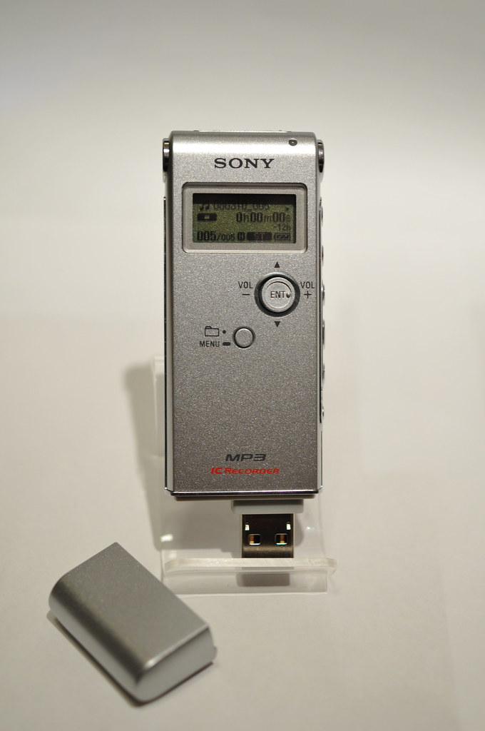 sony icd ux70 mp3 ic recorder from sony with usb digitalbear rh flickr com Sony DAV HDX576WF Manual sony icd-ux70 user manual