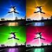 jumping 4 joyful colors