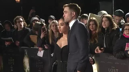 "#22 Rob Pattinson interview Associated Press Premiere""The Lost City of Z""  Red Carpet"