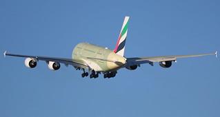 AIRBUS A380-800 EMIRATES F-WWAN MSN234 (A6-EUS) A L'AEROPORT TOULOUSE-BLAGNAC LE       09 02 17.