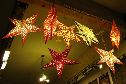 Paper Star Lanterns I Went Out With A Friend To The